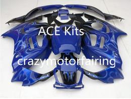 Wholesale 95 Cbr Fairing Kit - Motorcycle Fairing kit for HONDA CBR600F3 95 96 CBR600 F3 CBR 600F3 1995 1996 ABS hot Blue Fairings set+3gifts 22