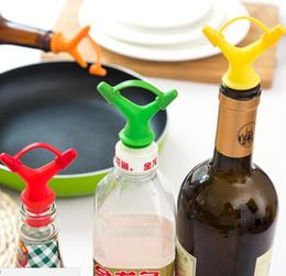 Wholesale Nozzle Oil - Double Deflector Liquid Nozzle Soy Oil Bottle Mouth Stopper Wine Stopper Wine Sauce Pour Spout Bottle Caps