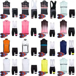 2018 Hot New RAPHA team Cycling Sleeveless jersey Vest (bib)shorts sets MTB  bike ropa ciclismo Breathable racing wear D1351 4a73c74f1