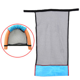 Wholesale Heating Seats - Water Relaxation Quality Polyester Floating Pool Noodle Sling Mesh Chair Net For Swimming Pool party Kids Bed Seat