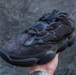 Wholesale Moon Gem - Kanye West Presents Boost 500 Desert Rat Sneaker,Chunky Dad Shoes retro-fitted in basketball gems Super Moon Yellows Blush Utility Black