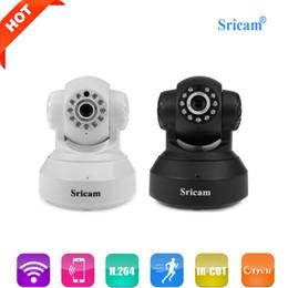2019 macchina fotografica sricam Telecamera IP wireless originale Sricam SP005 WiFi 720P HD Mini infrarossi Onvif P2P Baby Monitor Supporto riproduzione allarme Sicurezza Cam macchina fotografica sricam economici
