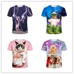 Youthcare 3D camiseta impresa para hombres y mujeres Poplular para hombre Doctor Cats Collection impresión diseñador camisetas mujeres ropa Tops desde fabricantes
