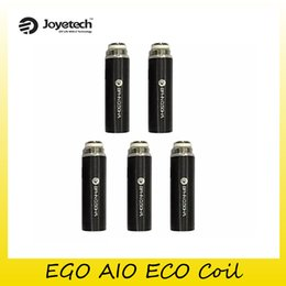 Wholesale Ego Replacement - 100% Original Joyetech EGO AIO ECO Coil Head BFHN 0.5Ohm Replacement Coils For Authentic Starter Kits 2220084