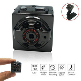 Wholesale Infrared Motion Sensor Mini - 2018 New SQ8 Mini Camera Full HD 1080P Night Recorder Infrared vision motion sensor digital DV small mini camcorder DV camera Free Shipping