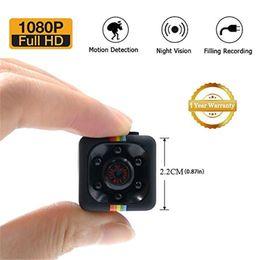 câmeras super pequenas Desconto SQ11 HD Mini Super Pequena Câmera Portátil Vídeo com Visão Noturna e Câmera de Segurança com Detecção de Movimento para Casa e Escritório