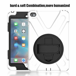 Wholesale Protective Hard Case Tablet - Shockproof Armor Case for Apple iPad Min 1 2 3 Hard Hybrid High Impact Defender Full Body Protective Cover