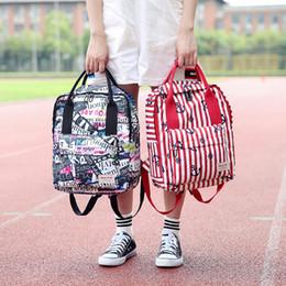 separation shoes 78bea 5edda türen aus Rabatt 2018 Herbst neue Mama Rucksack koreanische Mode Druck Mom  Out Tür Schultern Taschen