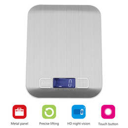 Wholesale Portable Benches - YIERYI 50pcs 5KG 1g 10KG 1G Portable digital scales for Kitchen high Precision Balance high Quality Electronic Scales weighting food scales