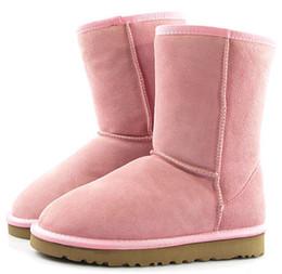 Botas de invierno de descuento para hombres online-Envío gratis de invierno New Australia Classic Snow Boots A +++ Calidad Barato mujer hombre invierno botas moda descuento Botines zapatos tamaño 5-12