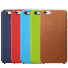 Wholesale Iphone Slim Leather Case - Leather Case Retro Style Handmade Ultra Slim PU Shock Microfiber Soft Lining Cloth Cushion Cover Case for Apple iPhone X 8 Plus 7 6 6S 5 5S