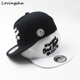 LOVINGSHA Boy gorras de béisbol diseño de letras 3-8 años de edad 05c62287fee