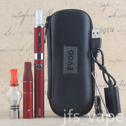 eVod kit vaporizer tank vape dry herb dab pen kit 3 in 1 kit di avviamento cera oil vapes pen all'ingrosso evod starter kit da
