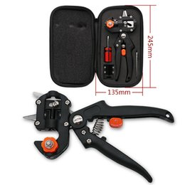 Wholesale Case Cutting Tool - Garden Fruit Tree Pro Pruning Shears Scissor Grafting cutting Tool + Packaging Case - Garden Tools Set Pruner Tree Cutting Tool