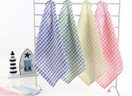 Wholesale Absorbent Dish Towels - Kitchen Dish Towels Cotton Soft Microfibre Double-sided Absorbent Non-stick oil Wash Bowl Towels Kitchen Cleaning Cloth 27*27cm