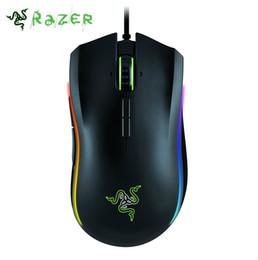 Maus gamer razer online-Razer Mamba Tournament Edition 16000 DPI-Gaming-Maus Professionelle Chroma-Ergonomie für PC-Spieler mit USB-Kabel