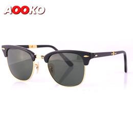 Occhiali occhiali online-Hot Newest Fashion Classic fold modello 2176 Occhiali da sole Master Folding Glasses Rollaway Women Brand Designer Uomo Occhiali con scatola 51mm