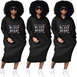 Bayan uzun hoodies elbise kazak siyah akıllı baskı mektup gevşek ceket giyim casual gömlek elbise etek güz kış üstleri streetwear nereden