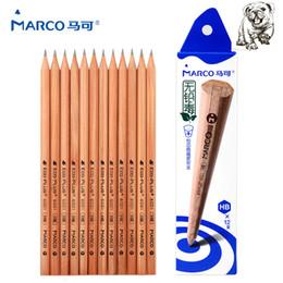 2019 lápis desenho marco Marco 2017New 2B / HB / 2 H 12 pcs Desenho A Lápis de Desenho Conjunto Lápis Desenho Estudantes Para Escrever Hexagonal Não-tóxico Para A Escola estudante desconto lápis desenho marco