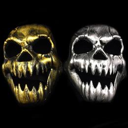 2019 масляная вуаль Хэллоуин страшный скелет череп маска для лица игра Хэллоуин вуаль Балаклава призрак капот косплей костюм тема партия одежда реквизит FFA803 скидка масляная вуаль