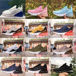 Wholesale stone cushions - High Quality New Arrival Airrl Cushion 270 Men Women Running Shoes Dusty Cactus White Black Red Sepia Stone Sneakers AH8050 size 36-45