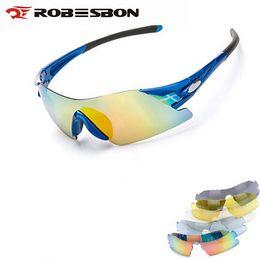 7 Photos Lunettes de soleil pour lunettes de moto à vendre-ROBESBON Sport  Moto Hommes Femmes Cyclisme eac93f87cc93