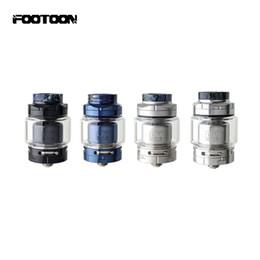 Jus d'atomiseur en Ligne-100% authentique Footoon Aqua Master RTA Atomizer 810 Drip Tip Compatible avec les jus Aqua Reboot Rank Section 2.6ml