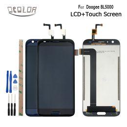 2019 digitalizador de telefonía móvil Para doogee BL5000 Pantalla LCD y pantalla táctil Reemplazo del ensamblaje del digitalizador Para doogee BL5000 Accesorios para teléfonos móviles digitalizador de telefonía móvil baratos
