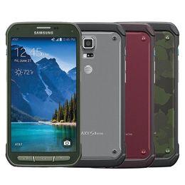 Überholtes ursprüngliches Samsung-Galaxie S5 aktives G870A 5.1