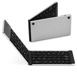 laptop tablet pc windows Promo Codes - Folding Portable Universal Wireless Bluetooth 3.0 Keyboard Support Android   Windows   iOS PC Tablet Laptop Free shippin