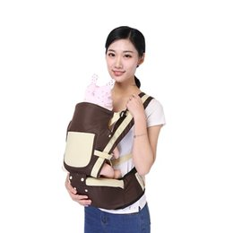 Wholesale comfort baby carrier - Multifunctional Baby Stool Suspender Carrier Comfort Baby Carriers Infant Slings Suspenders Toddler Wrap Waist Stool Belt Fashion Mummy Kids