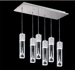 cristal bolhas pingente de luz Desconto 2019 luz da bolha de cristal torre eiffel luz pingente lâmpada de teto bar sala de jantar lamparas de techo colgante moderna