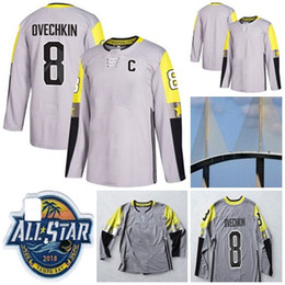 Mens 2018 All-Star Game Metro Division 8 Alex Ovechkin John Tavares Sidney  Crosby Taylor Hall Jones Giroux Bailey Lundqvist Hockey Jerseys be9ea28b8