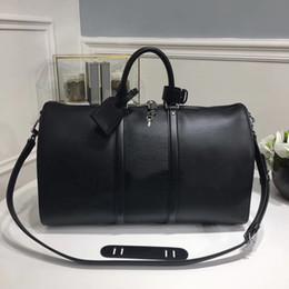 Wholesale Black Journey - 45*27*20cm Mens womens Duffel Bags fashion Sport&Outdoor Packs Top luxury brand Short journey bag Single shoulder sports storage bags