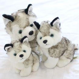 Wholesale Cute Huskies - 1 Pcs 2018 New Cute PP Cotton Plush Husky Dog Doll Soft Toy Stuffed Animal Cute Dog Baby Kids Toys Gift 3 Size