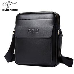 Badenroo cuero genuino Polo hombres bolsos de hombro Classical Messenger Bag Cross Body Bag Moda Casual Business bolsos para hombres desde fabricantes