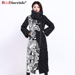 Manteau en duvet de canard élégant de style européen chaud d'hiver manteau en duvet de canard de femmes d'hiver de mode féminine X-Long Slim Slim YR159 ? partir de fabricateur