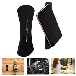 Wholesale Mobile Phone Holder Stand Rubber - Flourish Lama 360 Car Holder Amazing Rubber Sticker for Mobile Phone Holder Stand Multi-Function No Trace Washable Sailor Sticker Car Pads
