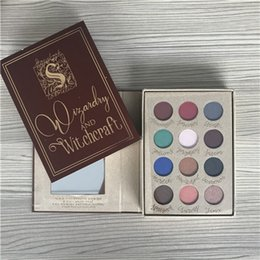 Eye Shadow Harry Potters Magic Book 12 Colors Red Wine Earth Color Rude Shimmer Repair Capacity Powder