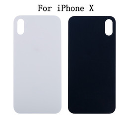 Wholesale 3m Glass - For iPhone8 iPhone 8 Plus Back Glass Cover Battery Door For iPhone X Repair Part With 3M Sticker Adhesive High Quality