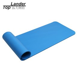 Wholesale Anti Lost Belt - Yoga Mats 10mm Thick NBR Anti-skid Non-Slip Lose Weight Gym Belt Sling Strap Elastic Slip 10MM 183*61CM Yoga Pad Mat