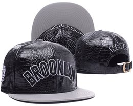Wholesale Brooklyn Snapback - 2018 Wholesale new nets baseball caps Brooklyn Embroidery hats Snapback Caps adjustable dad hats for men bones snapbacks bone gorras cap