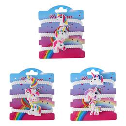 Wholesale 3Pcs Set Enfants Charme Unique Licorne Bracelets Filles Garçons Fête D anniversaire Sac De Remplissage Enfants Bébé Bracelet Enfant Jouet