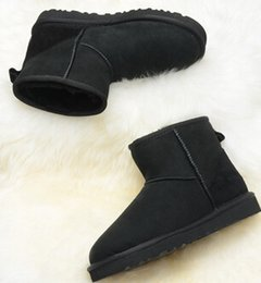 Wholesale Womens Size 11 Winter Boots - DORP shipping 2018 High Quality Women's Classic tall Boots Womens boots Boot Snow boots Winter leather boot US SIZE 5---11
