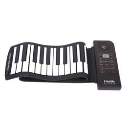 Canada Portable clavier numérique flexible piano 61 touches 128 tons 128 rythmes électronique enrouler piano enfants jouets intégré haut-parleur supplier electronics children Offre
