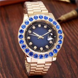 Wholesale Roman Navy - Montre Geneva Watch Women Men Fashion Roman Numerals Dial Watches Women's Mens Luxury Brand Leather Quartz Wristwatch Clock Relogio Feminino