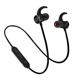 Wholesale iphone headphones functions - Wireless Bluetooth 4.1 Headphone Comfortable Wear Multi-Function Headset Magnetic Design Earphone For Sport For iPhone Android