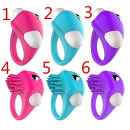 Wholesale Cock Ring Styles - 2 Styles 3 Colors Vibrating Cock Ring Delay Ejaculation Penis Ring Sex Toys for Men Sexy Toys Cockring Anel Peniano