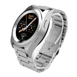 Wholesale Heart Battery Monitor - G6 Bluetooth 4.0 MTK2502 Smart Watch With Metal Case support Heart Rate Monitor push message with 380mAh battery for Android iOS wristwatch