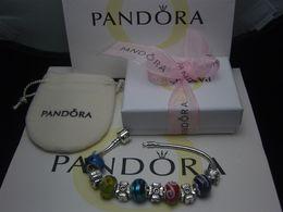 2018 Neue Charm Armband 925 Silber Pandora Armbänder Für Frauen Royal Crown Armband Lila Kristall Perlen Diy Schmuck mit benutzerdefinierten logo von Fabrikanten